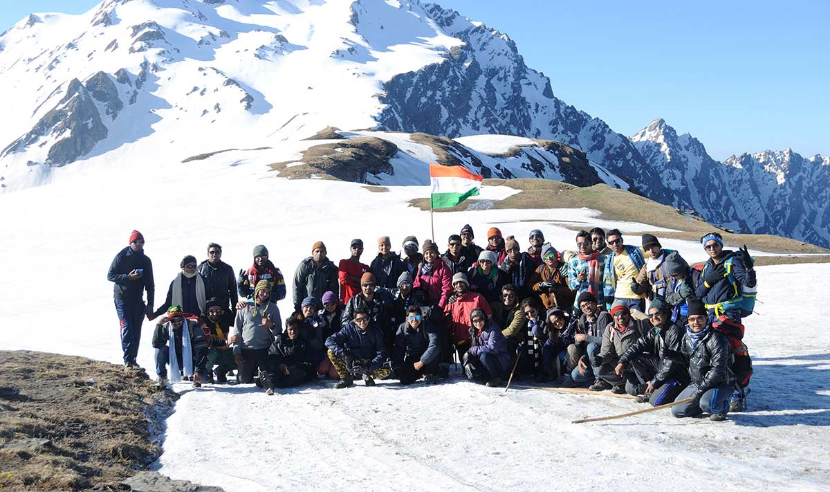 Trekking Snow Adventure Kullu Manali Trekking Sar Pass Adventure