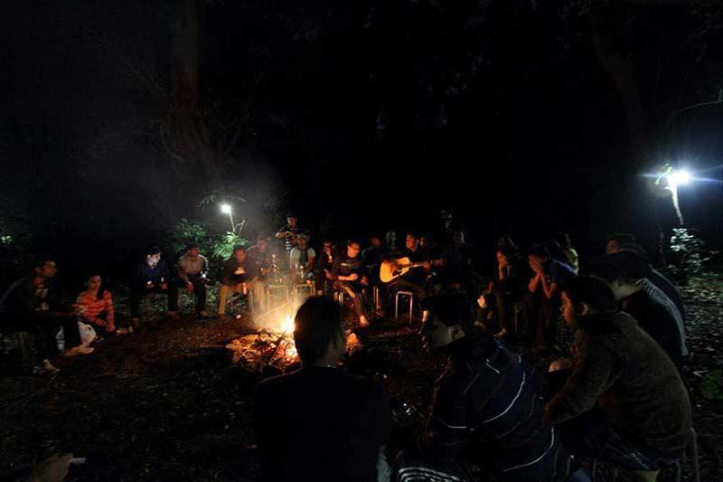 Maharashtra Rajmachi Adventure Camping Campsite Lonavala