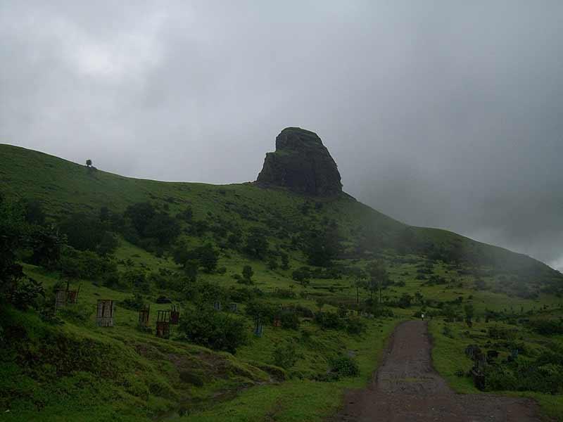 Anjaneri Trek Maharashtra Nashik Trekking Fort Hill Mountains Activies Nature Lush Monsoon