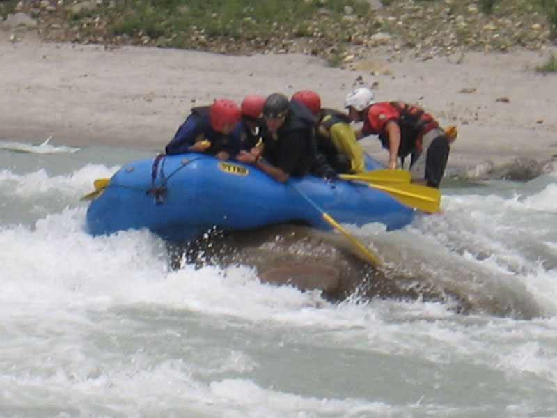Tons River Rafting Rapids Thrill Adventure Nature