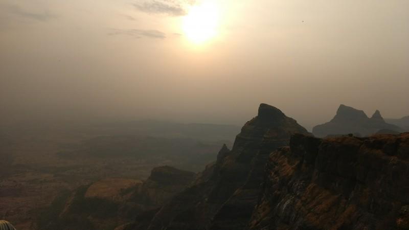 Harishchandragad Trekking Camping Maharashtra Sahyadris Forests Cliff Konkankada