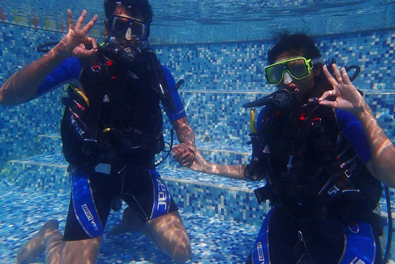 Scuba Diving Goa Fun Diving Water Sports Adventure