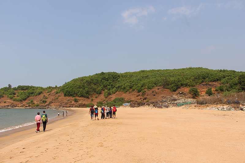 Gokarna Beach Trek Karnataka Monsoon Trekking Adventure Activity Nature Fun The Great Next