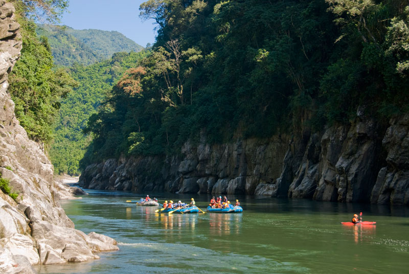 Kameng River Rafting Rapids Thrill Adventure Nature