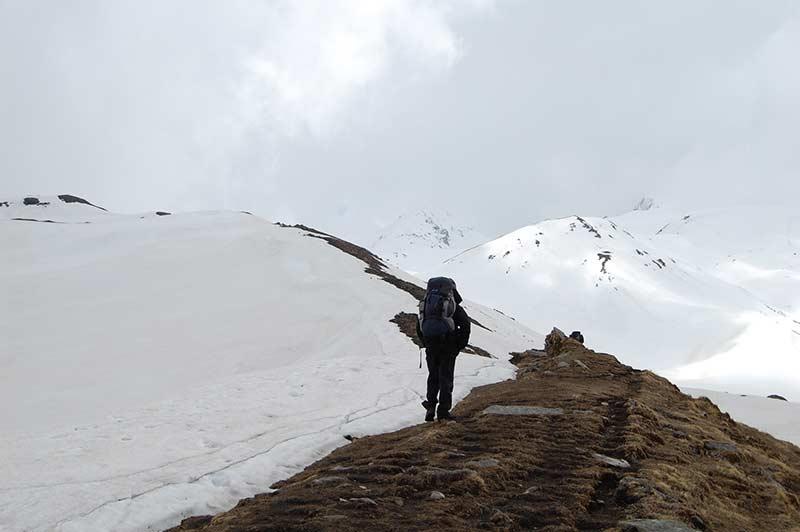 Trekking Kuari Pass Pangarchula haridwar Uttarakhand Adventure