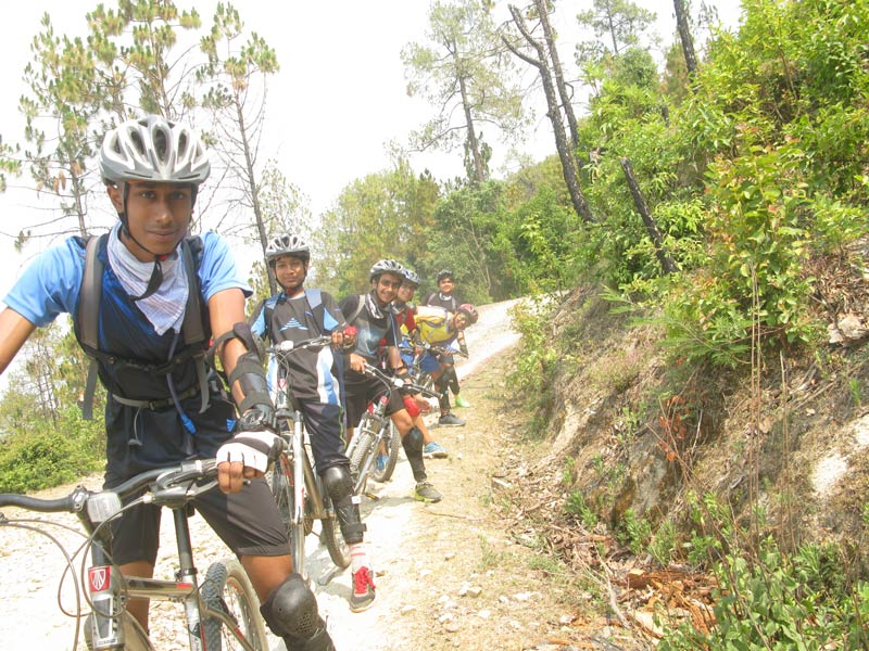 Uroli Kids Summer Camp Mountain Biking Cycling Adventure Uttarakhand