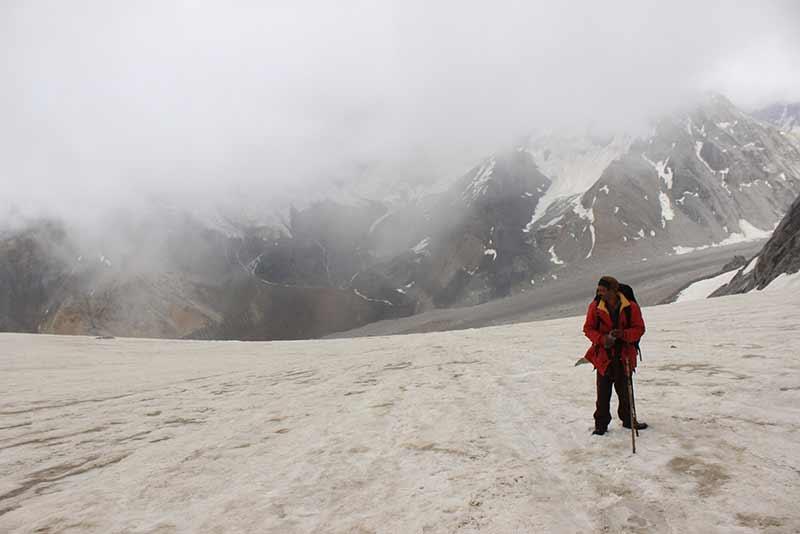 Borasu Pass Trek Himalayas Uttarakhand Trekking India The Great Next