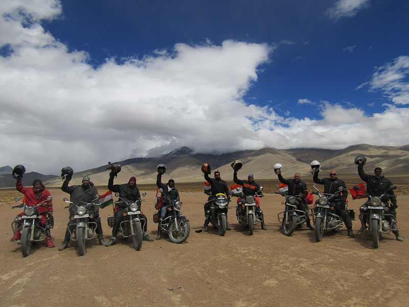 Leh Adventure Ride Jammu Kashmir Motorbiking Valleys Mountains Adventure Biking