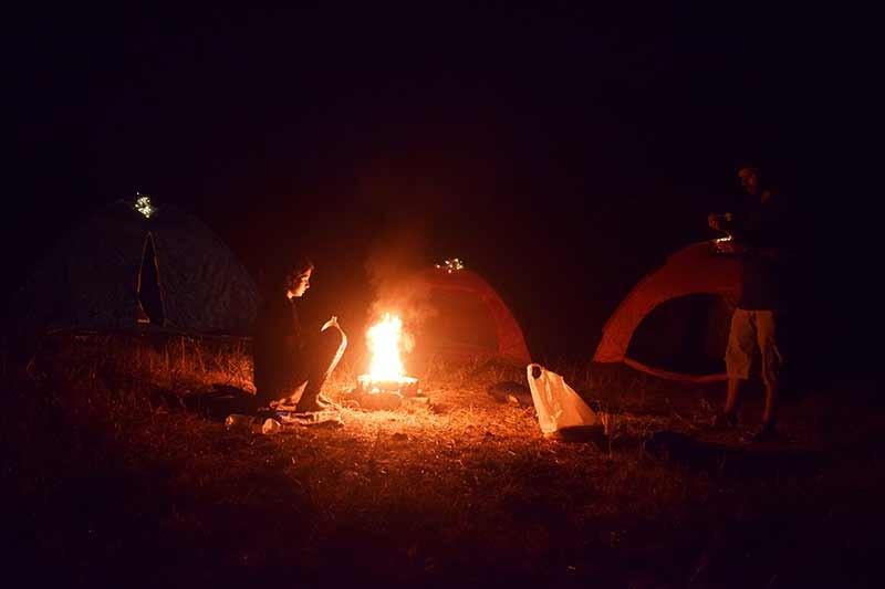 New Year Camping Lakeside Camping Vasundri Titwala Bonfire Sahyadris The Great Next