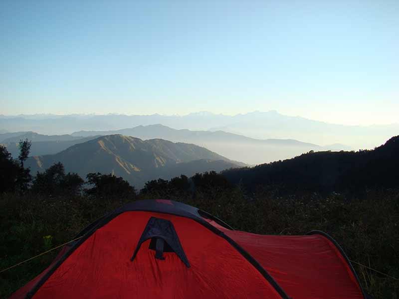 Nagtibba Trekking Adventure Trek Uttarakhand Himalayas