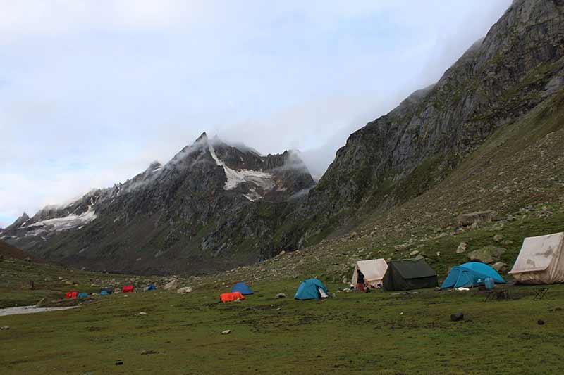 Hampta Pass Trekking Adventure Himachal Pradesh Manali Adventure
