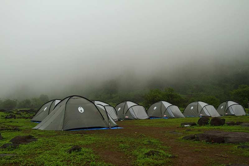 Maharashtra Rajmachi Lonavala Adventure Camping Campsite
