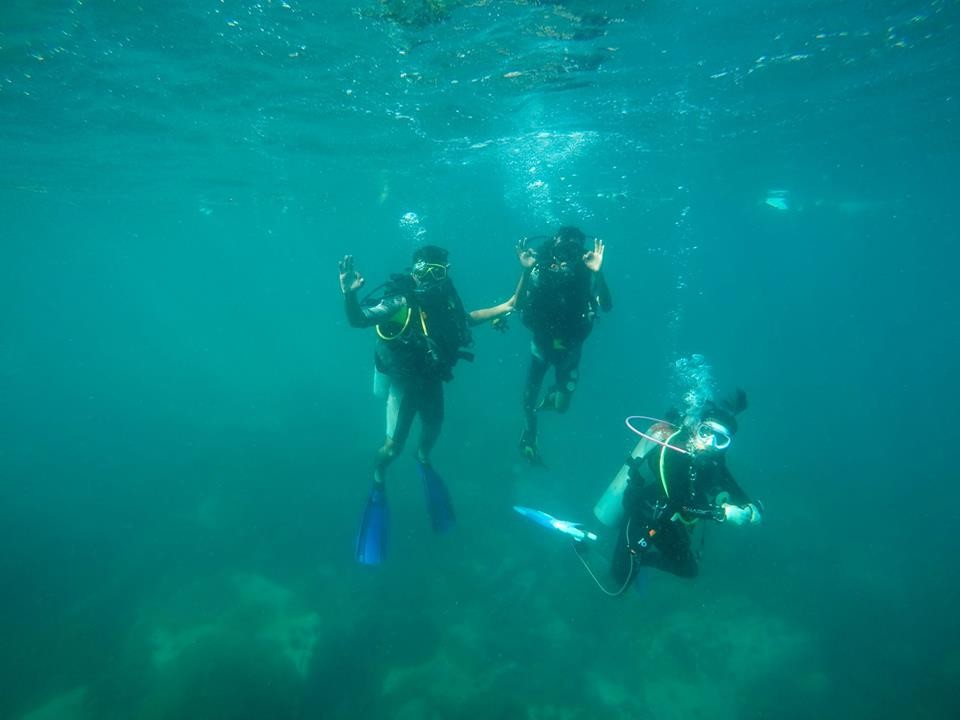 Scuba Diving Pattaya Thailand Adventure Travel The Great Next