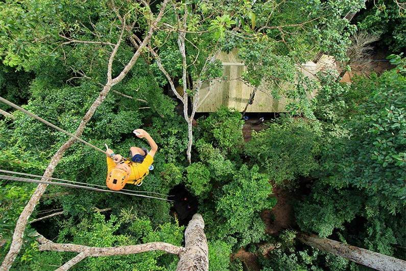 Ziplining Chiang Mai Thailand Adventure Travel The Great Next