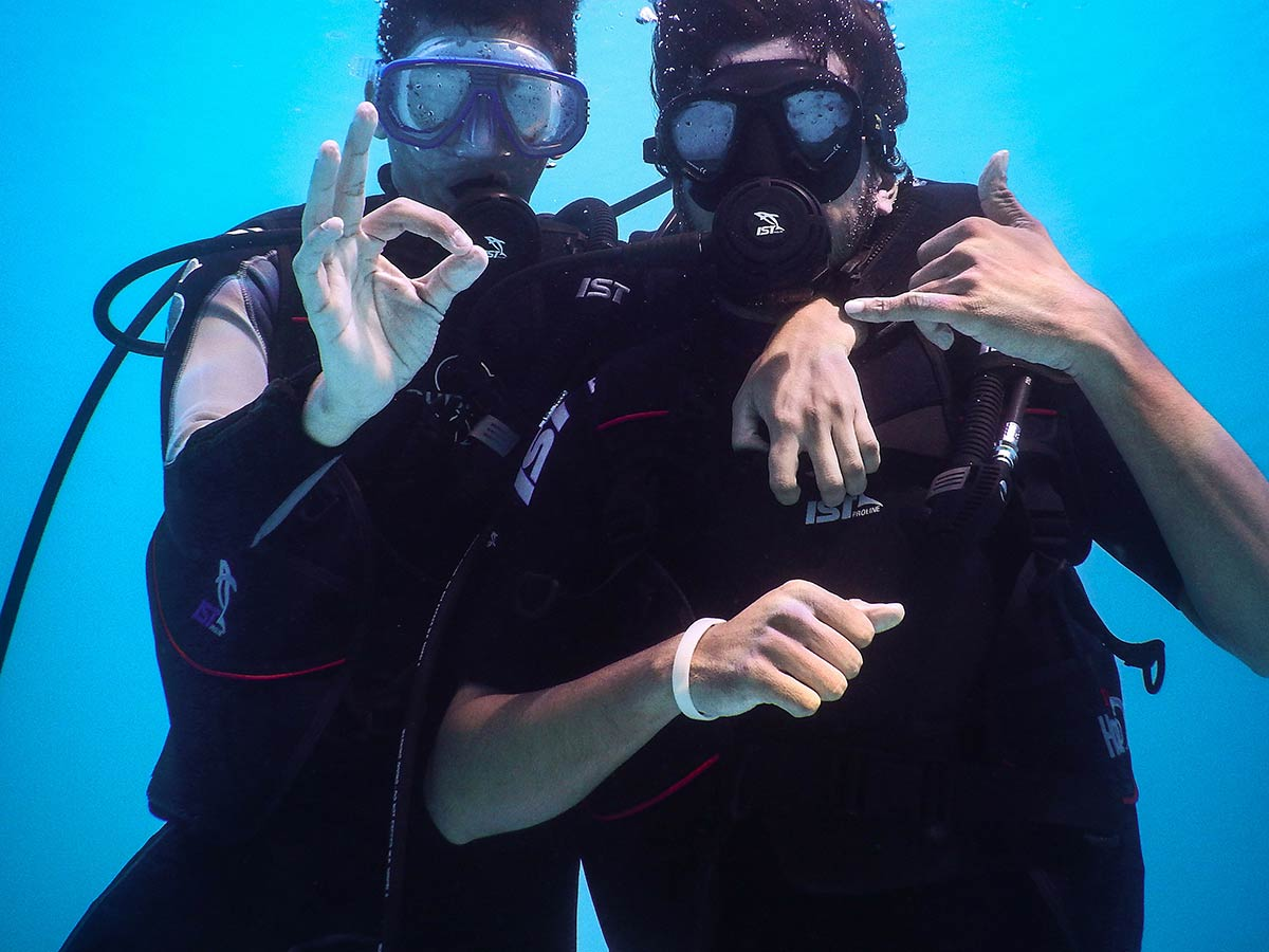 Try Dive Scuba Pune Adventure Nature Pool Scuba Diving