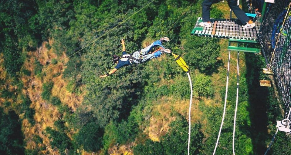 Bungee Jump Nepal Kathmandu Adventure Travel The Great Next