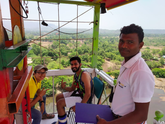 Bungee Jumping Kolad Maharashtra Mumbai Adventure Activity Sports Nature Travel The Great Next