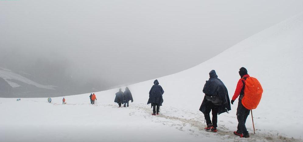 Pin Parvati Pass Trek Himachal Spiti Snow Mountians Trekking Adventure Travel The Great Next