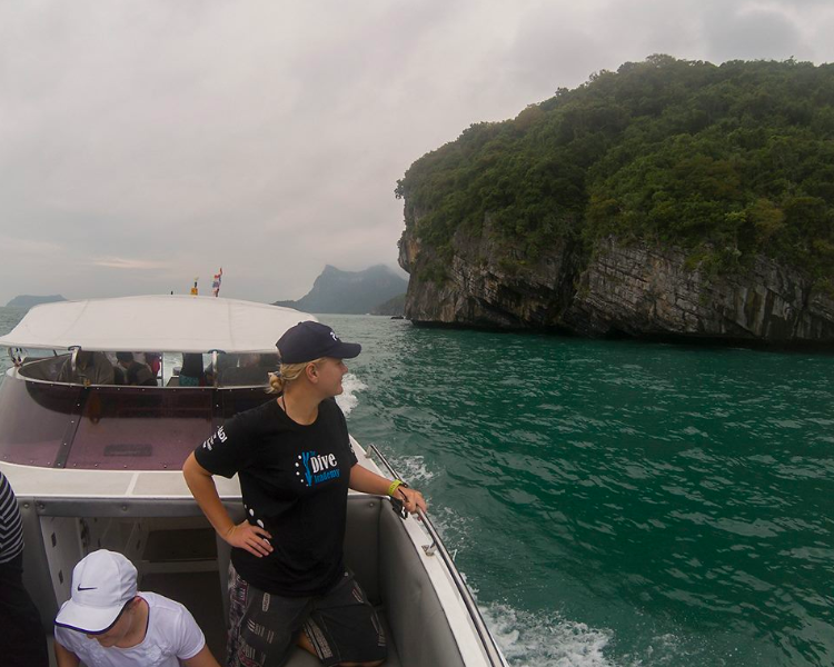 PADI Advanced Open Water Diver Course Koh Tao Thailand Bangkok Scuba Diving Water Sports Adventure Travel