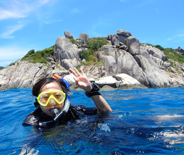 Koh Tao Snorkeling Thailand Water Sports Traveling Adventure Activities