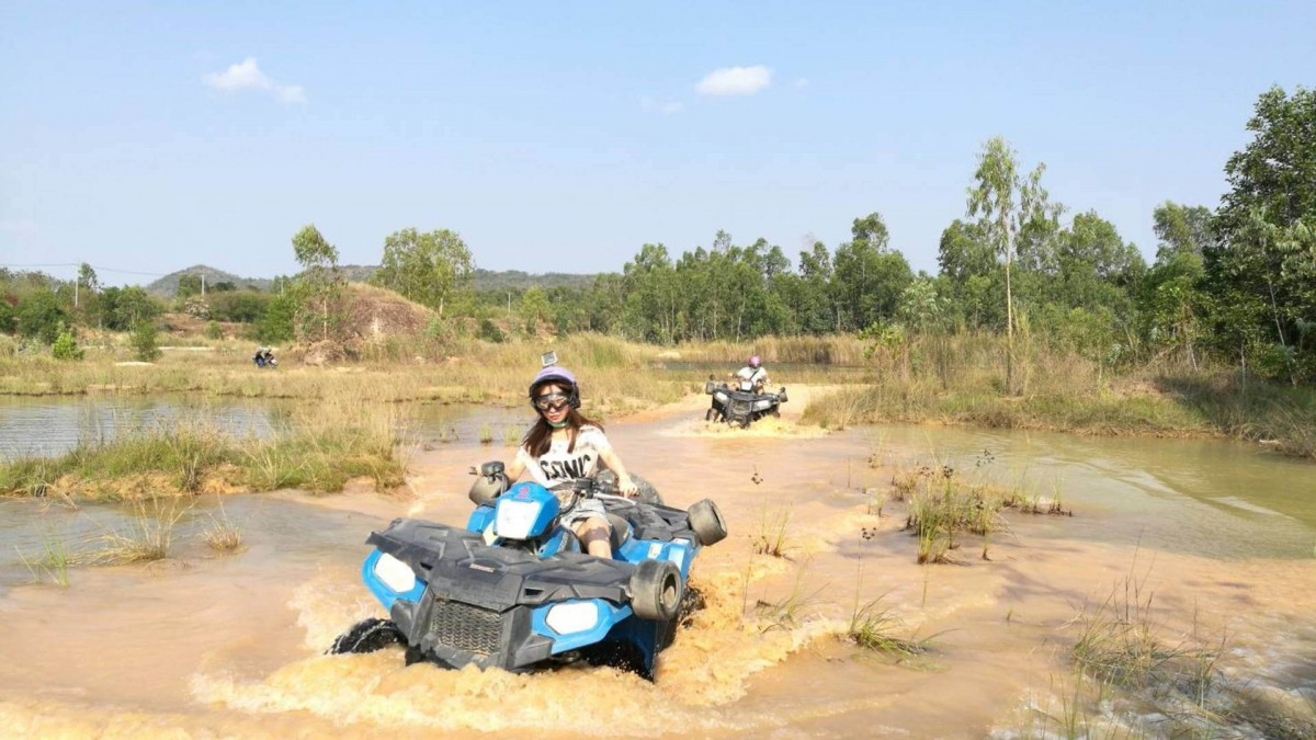 Ultimate ATV Tour Experienced Ride Off-road Technical Trail Pattaya Thailand The Great Next