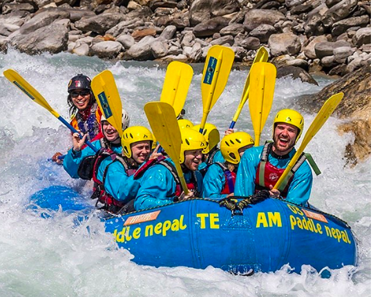 Upper Seti River rafting trip Kathmandu Pokhara Nepal Water sport Adventure Travel Destinations Fun
