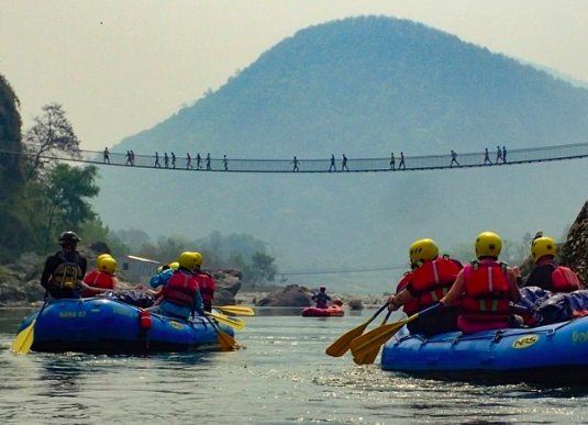 Trishuli River rafting trip Kathmandu Pokhara Nepal Water sport Adventure Travel Destinations Fun