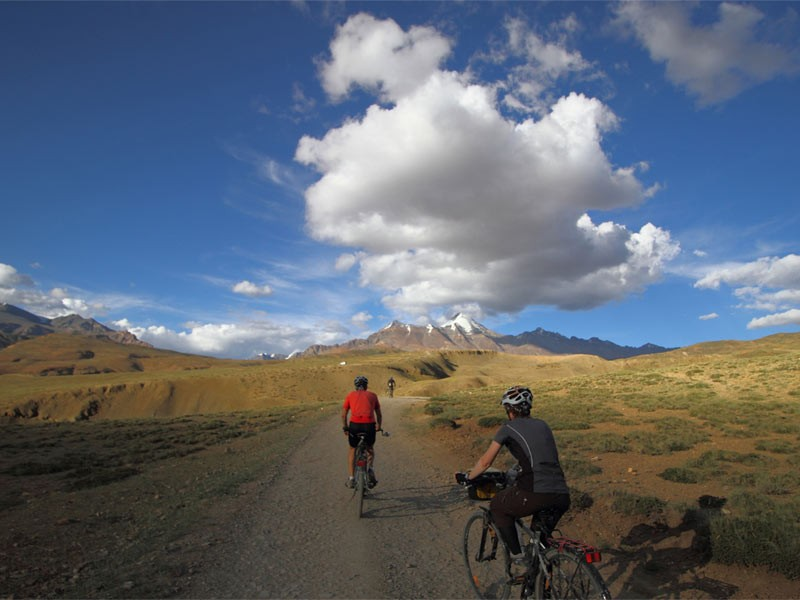 Cycling Spiti Mountains Bicycle Fun Adventure Activity Sports