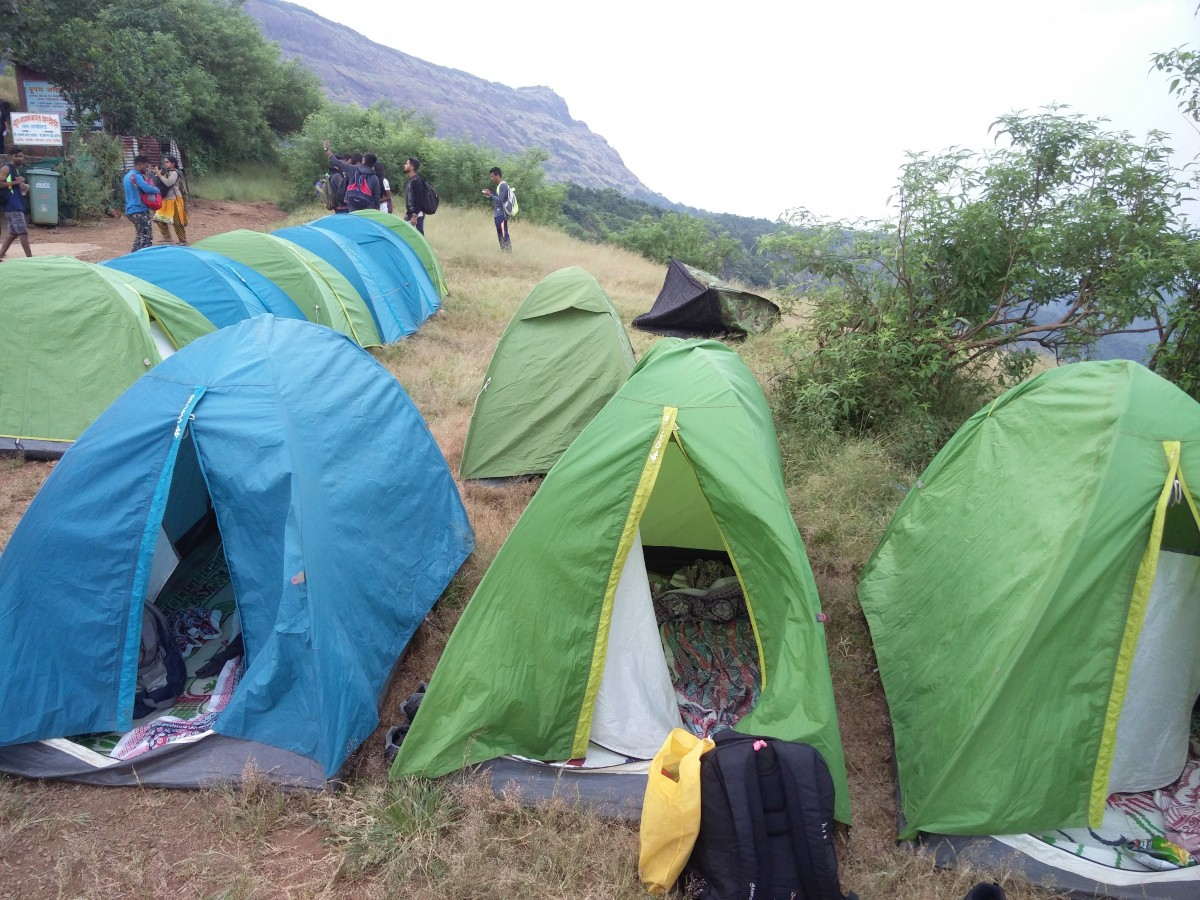 Fireflies Trekking Camping Prabalmachi Maharashtra Adventure Travel The Great Next