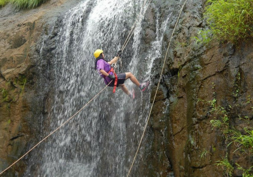 Rappelling Waterfall Dodhani Maharashtra Adventure Travel The Great Next