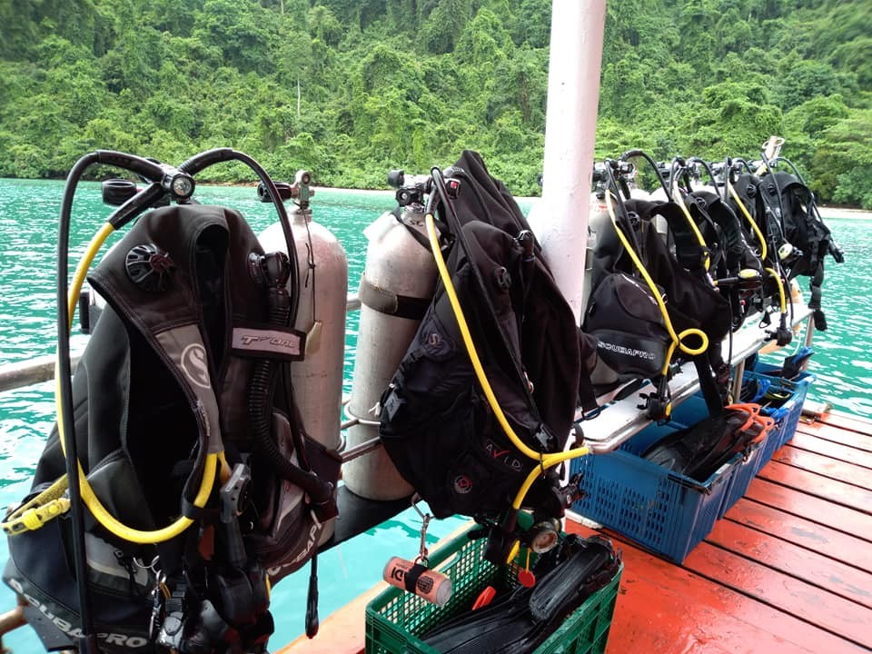 Scuba Diving Thailand Koh Chang Adventure Travel The Great Next