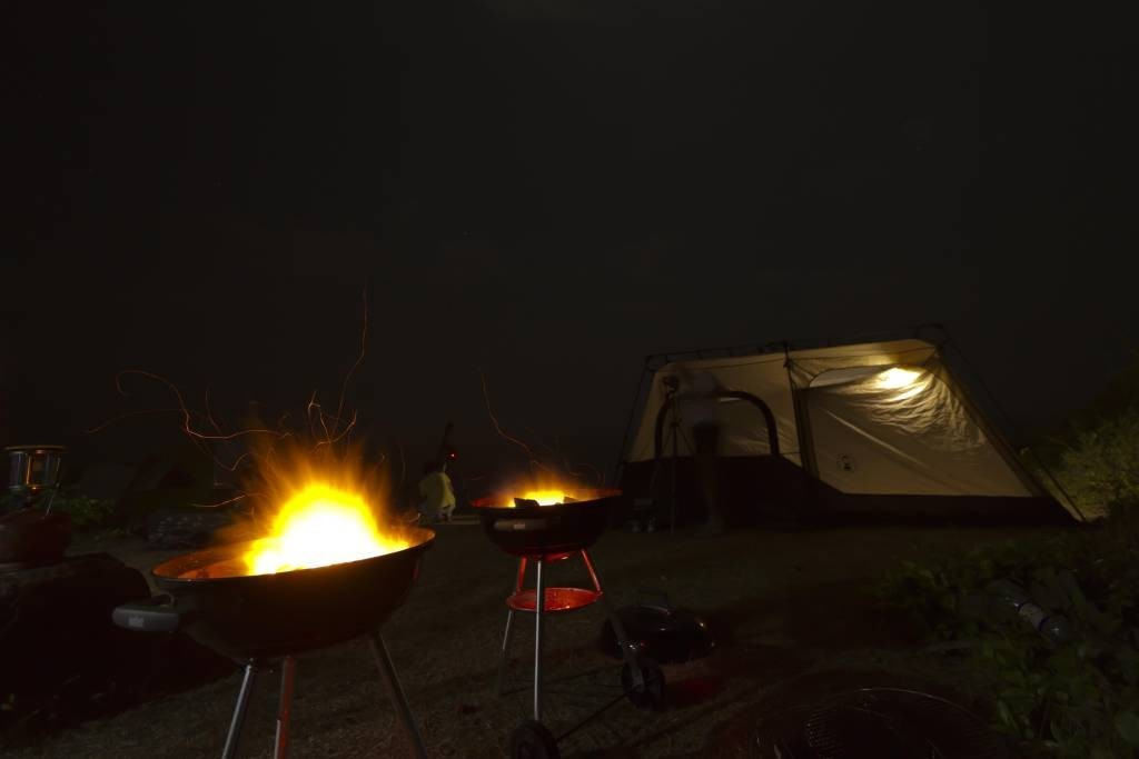 Maharashtra Kashid Beach Camping Adventure New Year Campsite