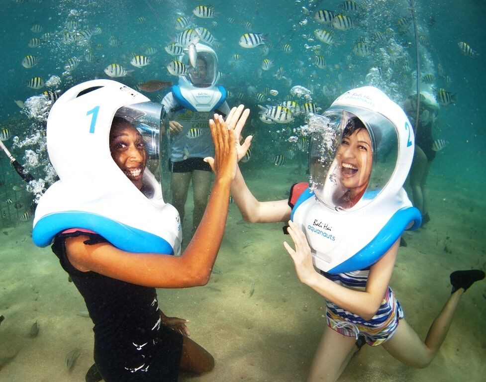 Seawalk Snorkelling Cruise Bali Indonesia Adventure Travel The Great Next