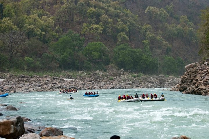 Rafting New Year 2019 Camping Rishikesh Adventure Travel The Great Next