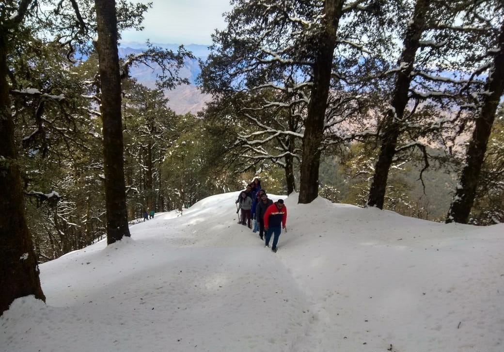 Nagtibba Trekking Uttarakhand Adventure Travel The Great Next