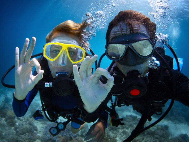 Scuba Diving Koh Chang PADI Advanced Open Water Diver Thailand Adventure Travel The Great Next