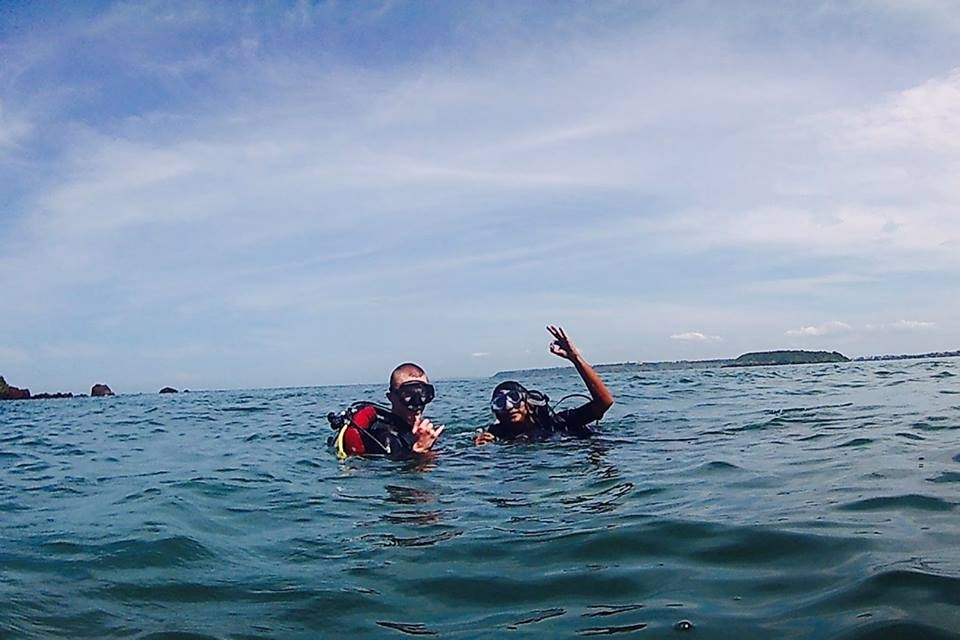 PADI Open Water Diver Course OWD Goa Fish Scuba Diving Adventure The Great Next