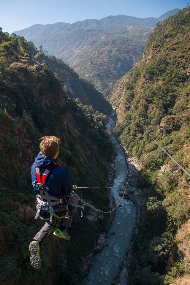 Camping Giant Swing Nepal Kathmandu Adventure Travel The Great Next