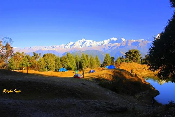 Chopta Camping Uttarakhand Himalayas Rappelling Rock Climbing Tent Adventure The Great Next