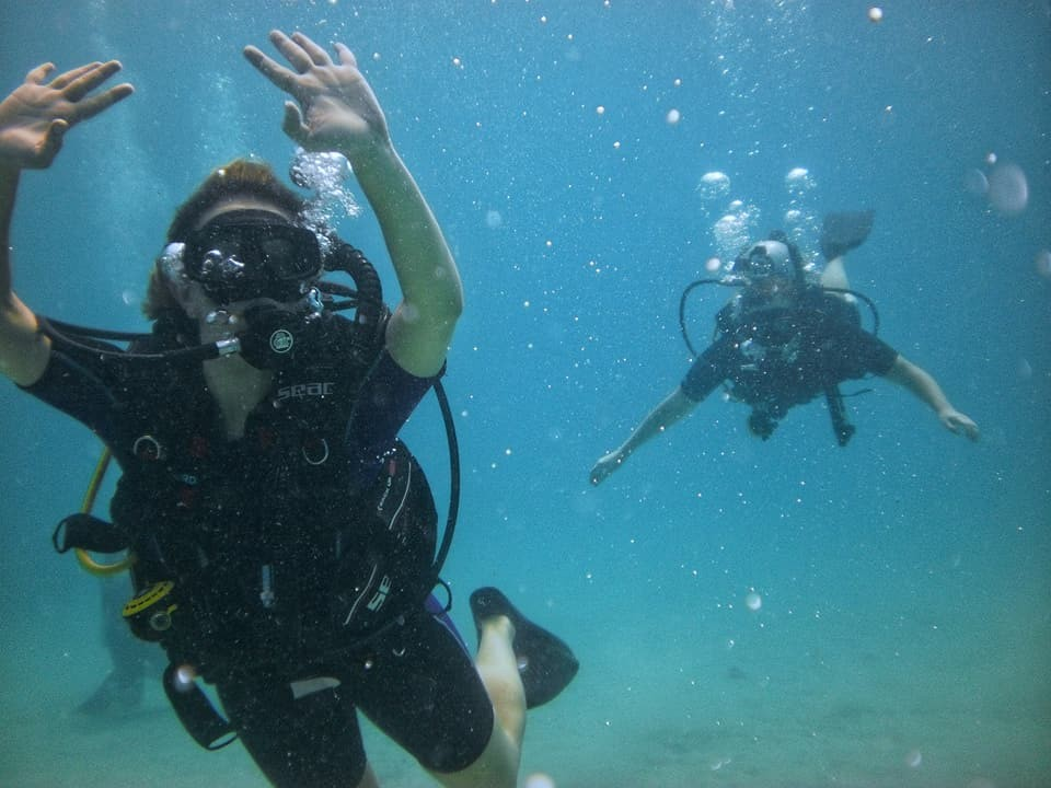 Scuba Diving Advanced Open Water PADI Andaman Havelock Adventure Travel The Great Next