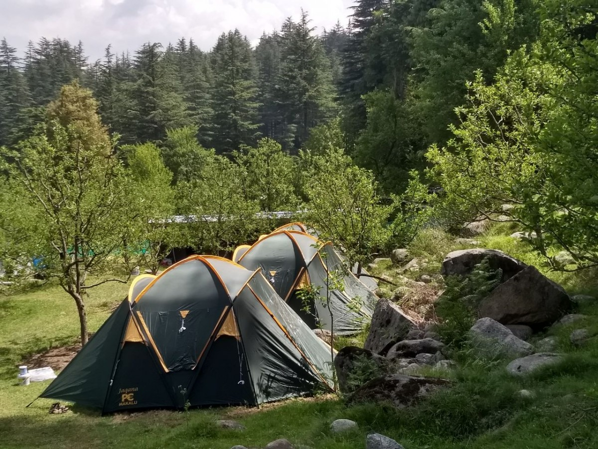 Camping New Year 2019 Manali Himachal Pradesh Himalayas Adventure Activity Sports