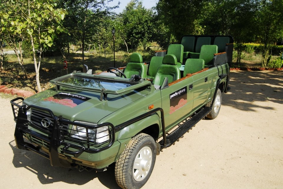 Pench National Park Jungle Safari Night Safari Camping Madhya Pradesh  Adventure Travel The Great Next