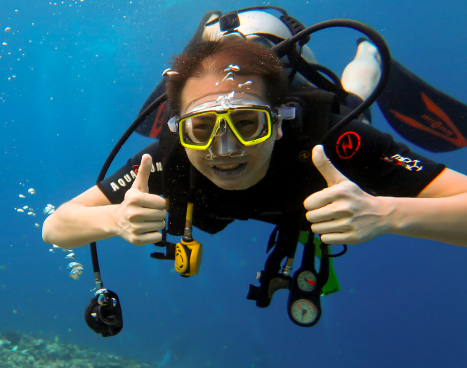 Discover Scuba Diving Gili Air Bali Indonesia Travel Destinations Water Sports Scuba Course Adventure
