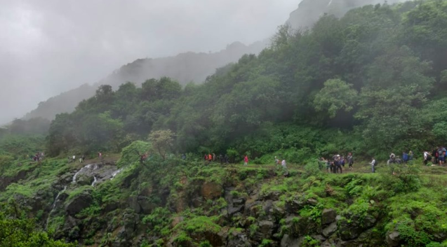 Andharban Trek Pune Maharashtra Trekking Adventure Travel Destinations Forests