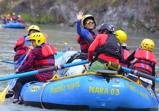 Lower Seti River rafting trip Kathmandu Pokhara Nepal Water sport Camping Adventure Travel Destinations Fun
