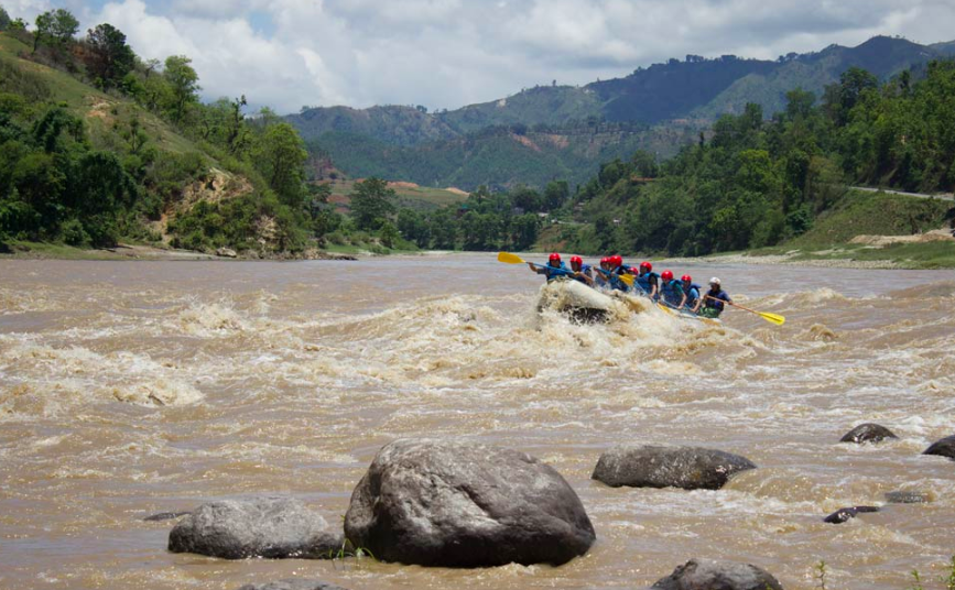 Trishuli River Rafting Kathmandu Nepal Himalayas Travel Destinations Adventure Water Sports