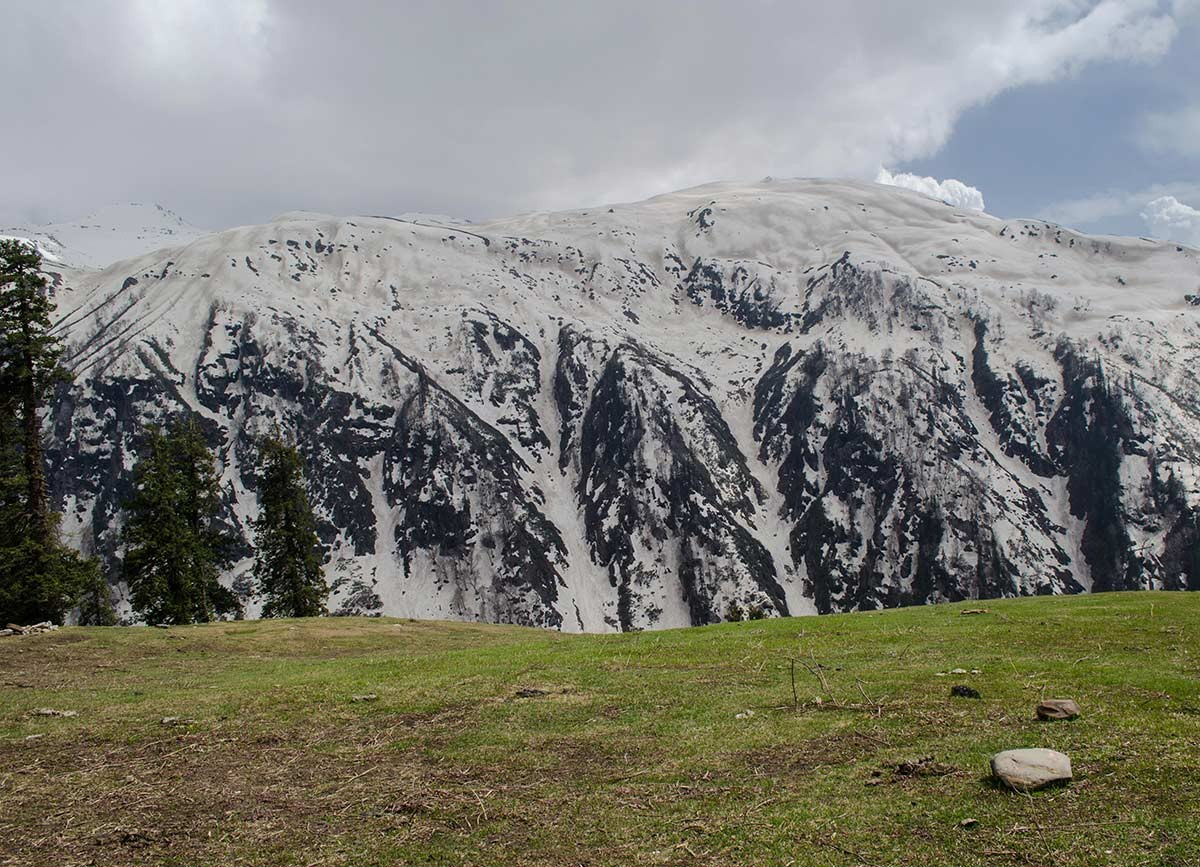Trekking Deo Tibba Himachal Pradesh Mountains Adventure Activity Sports Snow Fun