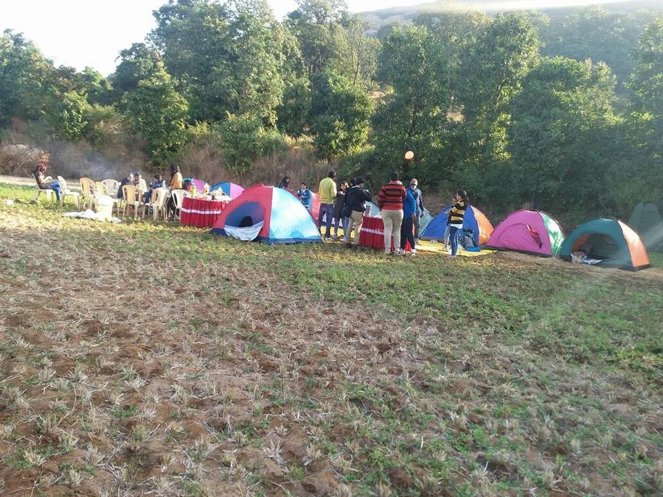 Bhandardara Camping Maharashtra Mountains Lake Adventure Activity Greenery