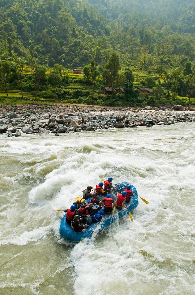 Camping Rafting Nepal Kathmandu Adventure Travel The Great Next