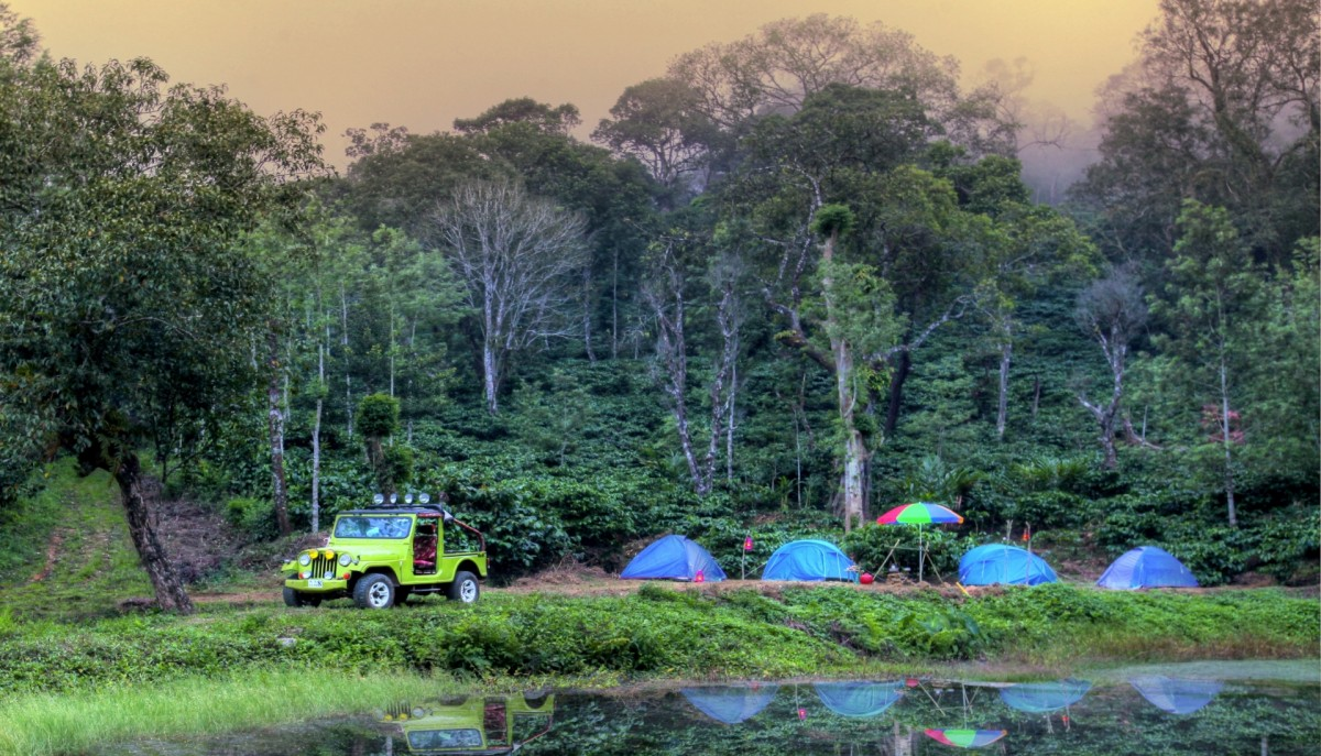 Camping Coorg Karnataka Adventure Travel The Great Next